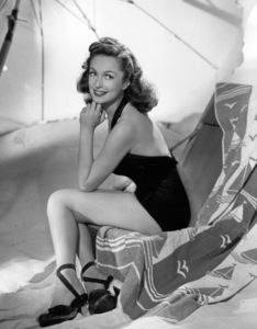 """Geraldine Fitzgerald from """"Nobody Lives Forever""""1946 Photo by Bert Six - Image 0974_0856"""