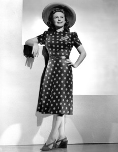 """Geraldine Fitzgerald from """"The Gay Sisters""""1942Photo by Elmer Fryer - Image 0974_0857"""