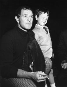 Richard Haris and son Jaredc. 1966 - Image 0978_0768
