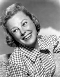 """June Allyson publicity still for """"The McConnell Story""""1955Photo by Bert Six - Image 0983_0066"""