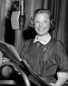 June Allyson at CBS Radiocirca 1959Photo by Gabi Rona - Image 0983_0155