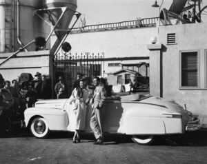 Don Amechi with Janice Cartercirca 1930s - Image 0984_0141