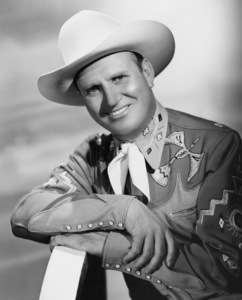 "Gene Autry from ""The Gene Autry Show""1950Photo by Gabi Rona - Image 0987_0021"