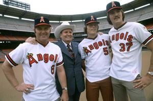 Gene Autry at Angel Stadium in Anaheim, California1978 © 1978 Gunther - Image 0987_1010