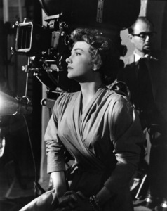 "Anne Baxter behind the scenes of ""Chase a Crooked Shadow""1958 Warner Brothers - Image 0991_0034"