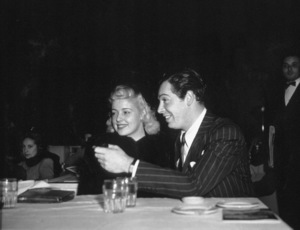 Milton Berle and friend at Ciro