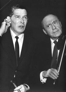 Milton Berle with Jack Benny, c. 1975. © 1978 Bud Gray - Image 0996_0013