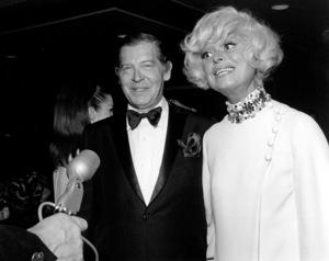 Milton Berle with Carol Channing, 1966. © 1978 Larry Kastendiek - Image 0996_0110