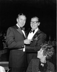 Milton Berle & Carl Reiner at Academy Of TV Arts & Sciences Party, 1968. © 1978 Gunther - Image 0996_0122