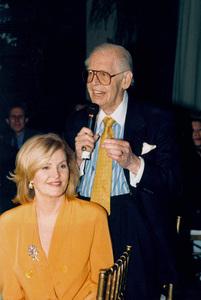 Milton Berle and wife Lorna Adamsat Ernest Borgnine