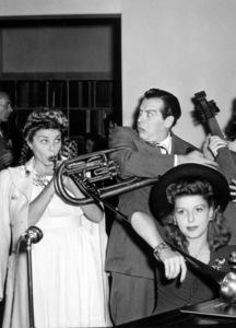 Milton Berle and Martha Raye, c. 1945.**I.V. - Image 0996_0143