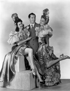 Milton Berle with the Chez Paree Girls, c. 1935. © 1978 Maurice Seymour - Image 0996_0150