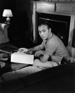 Charles Boyer at home1936  - Image 0998_0051