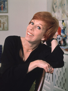 Carol Burnett at home, c. 1976. © 1997 Ken Whitmore - Image 1000_0106