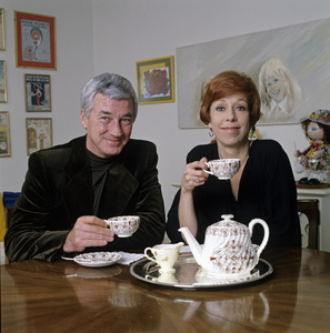 Carol Burnett and husband Joe Hamilton at home1979 © 1979 Ken Whitmore - Image 1000_0117