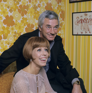 Carol Burnett and husband Joe Hamiltoncirca 1972 © 1978 Ken Whitmore - Image 1000_0162