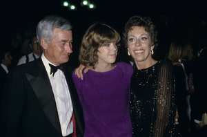 Carol Burnett with husband Joe Hamilton and daughter Carriecirca 1970s© 1978 Gary Lewis - Image 1000_0173