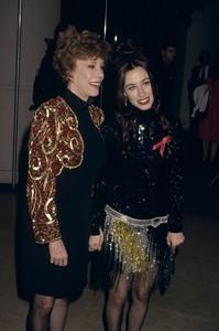 Carol Burnett and daughter Erincirca 1990s© 1990 Gary Lewis - Image 1000_0179