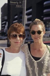 Carol Burnett and dauther Carriecirca 1990s© 1990 Gary Lewis - Image 1000_0182