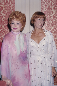 Carol Burnett and Lucille Ball 1975 © 1978 Gary Lewis - Image 1000_0185