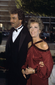 Carol Burnett and Tom Selleck1983© 1983 Gary Lewis - Image 1000_0187