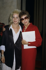 Carol Burnett and daughter Carrie1986© 1986 Gary Lewis - Image 1000_0188