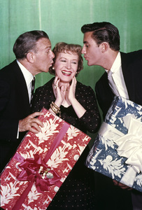 George Burns and Gracie Allen with soncirca 1955Photo by Gabi Rona - Image 1001_0011