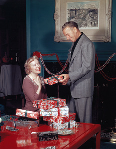 George Burns and Gracie Allencirca 1955Photo by Gabi Rona - Image 1001_0019