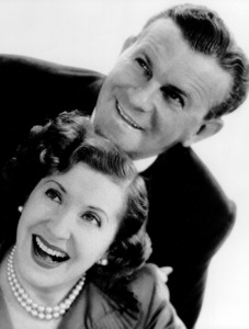 George Burns with Gracie Allen, c. 1955. © 1978 John Engstead - Image 1001_0038