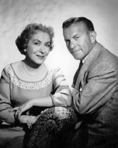 George Burns and Gracie Allen.c. 1952/CBSPhoto by Gabi Rona - Image 1001_0049