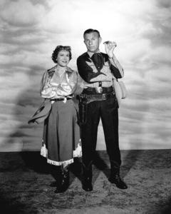Gracie Allen and George Burns,c. 1955.Photo by Gabi Rona - Image 1001_0601