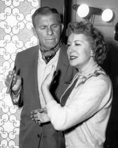 "George Burns and Gracie Allen on""The George Burns and Gracie Allen Show,""1957 /CBS.Photo by Gabi Rona - Image 1001_0613"