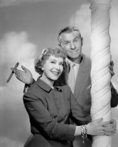 George Burns and Gracie Allen, c. 1956. © 1978 Wallace Seawell - Image 1001_0627