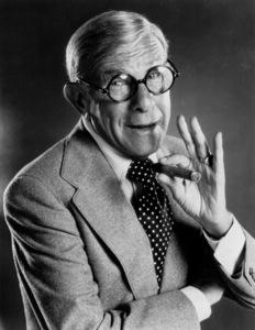 George Burns, c. 1980