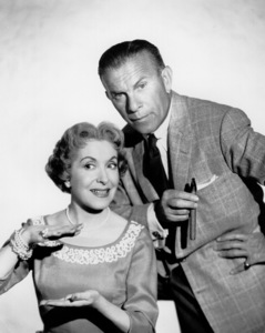 George Burns and Gracie Allen,c. 1955/CBSPhoto by Gabi Rona - Image 1001_0649