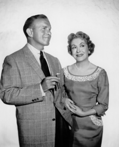 George Burns and Gracie Allen,c. 1955/CBSPhoto by Gabi Rona - Image 1001_0650