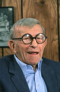 George Burns, October 1990. © 1990 Gene Trindl - Image 1001_0652