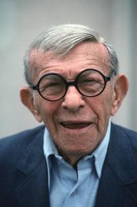 George Burns, October 1990. © 1990 Gene Trindl - Image 1001_0655