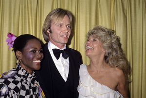 "Cicely Tyson, Jon Voight and Dyan Cannon at ""The 36th Annual Golden Globe Awards""January 27, 1979© 1979 Gary Lewis - Image 1002_0018"