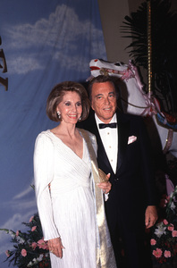 """Cyd Charisse and Tony Martinat """"Carousel of Hope"""" Charity EventOctober 1990 © 1990 Gunther - Image 1003_0064"""