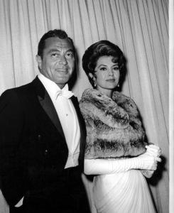 Cyd Charisse and Tony Martinat the Academy Awards circa 1960Photo by Joe Shere - Image 1003_0077