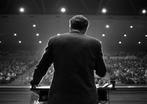 Billy Graham / January 29, 1967Photo by Clayton Bud Gray - Image 10061_0005