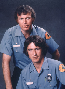 """Emergency""Kevin Tighe, Randolph Mantooth1976 NBCPhoto by Herb BallMPTV - Image 10062_0001"