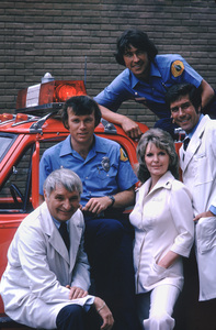 """Emergency""Kevin Tighe,Bobby Troup,Randolph Mantooth,Julie London,Robert Fuller1975 / NBC © 1978 Mario Casilli / MPTV - Image 10062_0002"