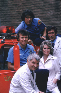 """Emergency""Kevin Tighe,Bobby Troup,Randolph Mantooth,Julie London,Robert Fuller1975 / NBC © 1978 Mario Casilli / MPTV - Image 10062_0003"