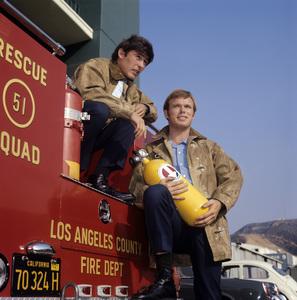 """Emergency!""Kevin Tighe, Randolph Mantooth1972** H.L. - Image 10062_0012"