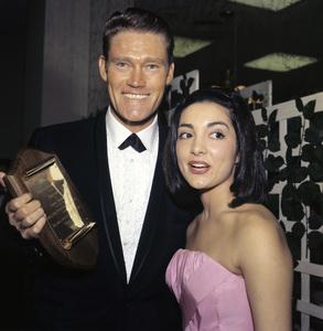 """The Golden Globe Awards""Chuck Connors1962© 1978 Bernie Abramson - Image 10095_0013"