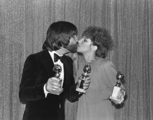 """Golden Globe Awards"" Jon Peters, Barbra Streisand 1977 Photo by Gabi Rona - Image 10096_0013"
