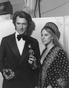 """Golden Globe Awards""Clint Eastwood, Barbra Streisand1971 © 1978 Gunther - Image 10097_0006"