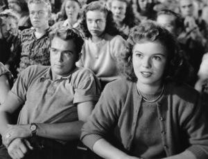 """The Bachelor and the Bobby-Soxer""Shirley Temple1947 RKO - Image 10102_0002"